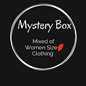 Mystery Box with Mix of Women Clothing Size S